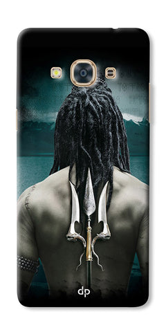 Digiprints Lord Shiva Back Case Cover For Samsung Galaxy J3 Pro