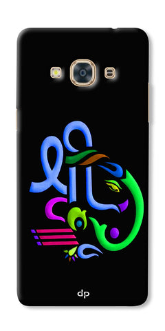 Digiprints Graphic Design Ganesha Back Case Cover For Samsung Galaxy J3 Pro