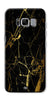 Digiprints Black Marble Design 1 Printed Designer Back Case Cover For Samsung Galaxy S8