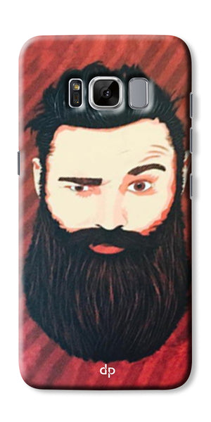 Digiprints Beard Man Printed Design Back Case Cover For Samsung Galaxy S8