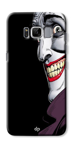 Digiprints The Joker Cartoon Printed Back Case Cover For Samsung Galaxy S8 Plus