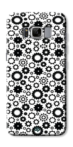 Digiprints Brain To Focus Compilation Patterns Back Case Cover For Samsung Galaxy S8 Plus