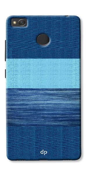 Digiprints Big Blue Denim Pattern Back Case Cover For Xiaomi Redmi 4A
