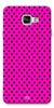 Digiprints Black Dotted Design Pink Printed Back Case Cover For Samsung Galaxy A5_2016