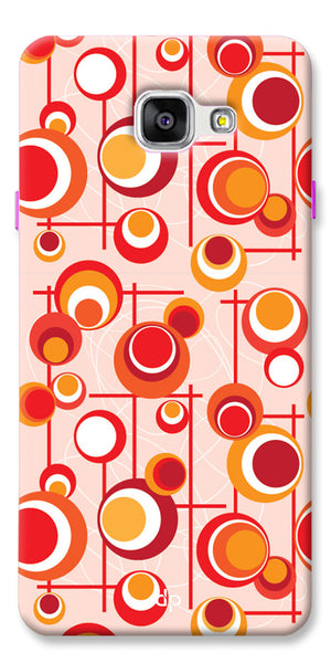 Digiprints Beautiful Geometric Patterns Back Case Cover For Samsung Galaxy A5_2016