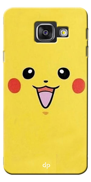 Digiprints Pikachu Pokemon Back Case Cover For Samsung Galaxy A7_2016