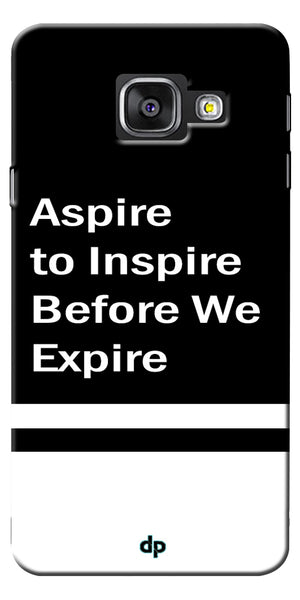 Digiprints Aspire To Inspire Printed Back Case Cover For Samsung Galaxy A7_2016