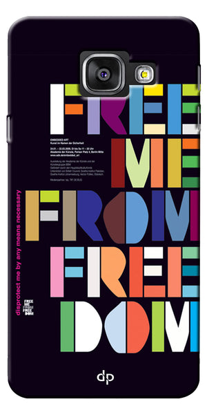 Digiprints Freedom Embedded Art Back Case For Samsung Galaxy A7_2016