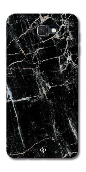 Digiprints Black Marble Design 2 Printed Designer Back Case Cover For Samsung Galaxy A9 Pro