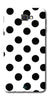 Digiprints Black Polka Dots Printed Back Case Cover For Samsung Galaxy A9 Pro