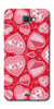 Digiprints Beautiful Pink Heart Design Printed Back Case Cover For Samsung Galaxy A9 Pro