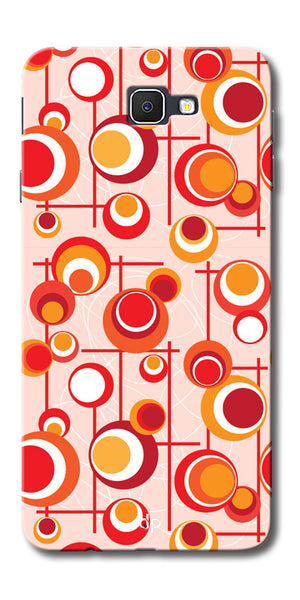 Digiprints Beautiful Geometric Patterns Back Case Cover For Samsung Galaxy A9 Pro