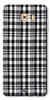 Digiprints Black Checks Printed Designer Back Case Cover For Samsung Galaxy C9 Pro