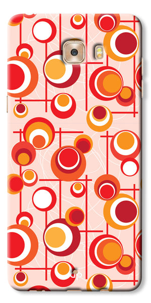 Digiprints Beautiful Geometric Patterns Back Case Cover For Samsung Galaxy C9 Pro