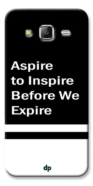 Digiprints Aspire To Inspire Printed Back Case Cover For Samsung Galaxy Grand Prime
