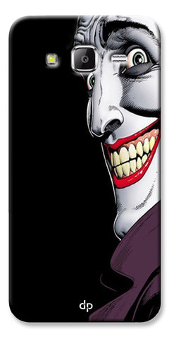 Digiprints The Joker Cartoon Printed Back Case Cover For Samsung Galaxy Grand Prime