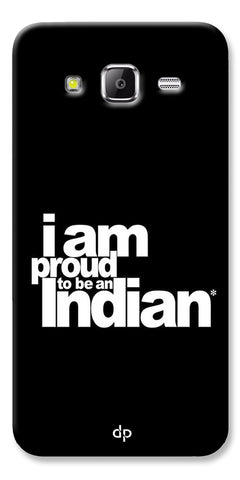 Digiprints I Am Proud To Be An Indian Printed  Back Case Cover For Samsung Galaxy Grand Prime