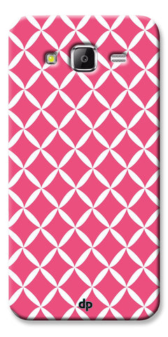 Digiprints Pink Pattern Printed Back Case Cover For Samsung Galaxy Grand Prime