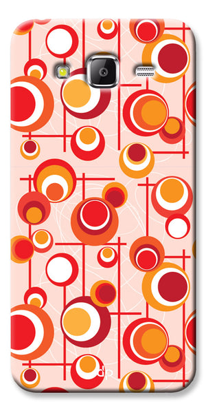 Digiprints Beautiful Geometric Patterns Back Case Cover For Samsung Galaxy Grand Prime