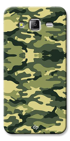 Digiprints Army Pattern Back Case Cover For Samsung Galaxy Grand Prime