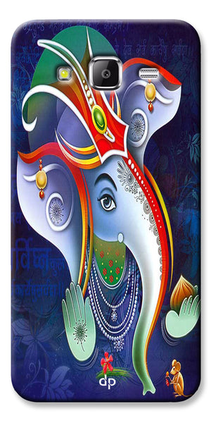 Digiprints Lord Ganesha Back Case For Samsung Galaxy Grand Prime