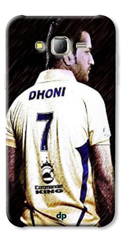 Digiprints Ms Dhoni Art Printed Back Case Cover For Samsung Galaxy J2