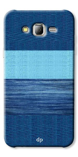 Digiprints Big Blue Denim Pattern Back Case Cover For Samsung Galaxy J2