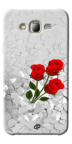 Digiprints Love rose background Printed Designer Back Case Cover For Samsung Galaxy J2