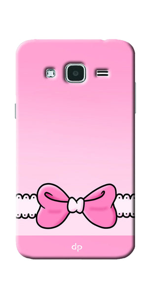 Digiprints Bing Bow Printed Back Case Cover For Samsung Galaxy J3