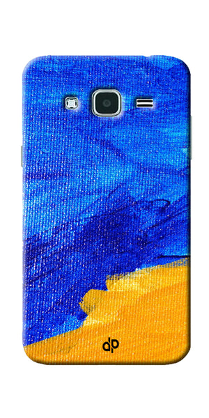 Digiprints abstract painted Printed Designer Back Case Cover For Samsung Galaxy J3
