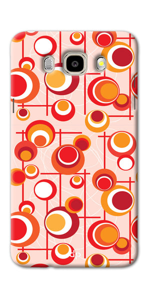 Digiprints Beautiful Geometric Patterns Back Case Cover For Samsung Galaxy J7_2016