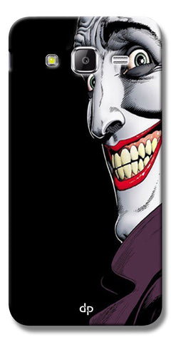 Digiprints The Joker Cartoon Printed Back Case Cover For Samsung Galaxy J5