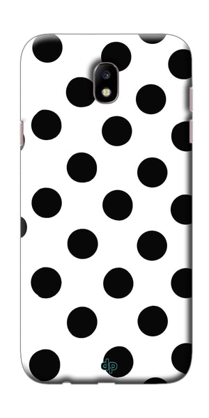 Digiprints White Patches Design Printed Back Case Cover For Samsung Galaxy J7 Pro