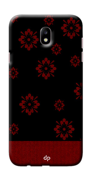 Digiprints Love Heart Printed Back Case Cover For Samsung Galaxy J7 Pro