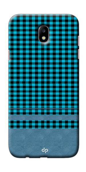 Digiprints Signature Red Patterns Back Case Cover For Samsung Galaxy J7 Pro