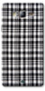 Digiprints Black Checks Printed Designer Back Case Cover For Samsung Galaxy On5
