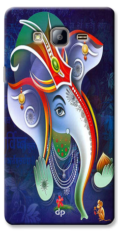 Digiprints Lord Ganesha Back Case For Samsung Galaxy On5