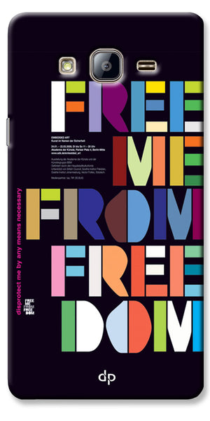 Digiprints Freedom Embedded Art Back Case For Samsung Galaxy On5