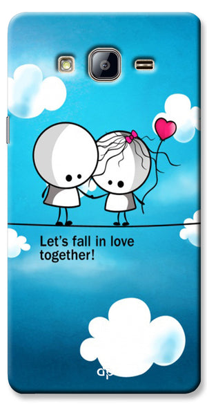 Digiprints Let'S Fall In Love Together Back Case Cover For Samsung Galaxy On5