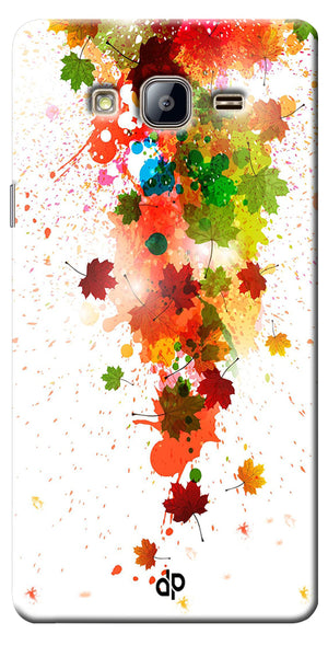 Digiprints  paint splatter Printed Designer Back Case Cover For Samsung Galaxy On5