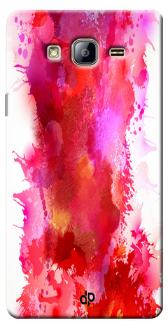 Digiprints multi color water color Printed Designer Back Case Cover For Samsung Galaxy On5