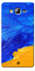 Digiprints abstract painted Printed Designer Back Case Cover For Samsung Galaxy On7