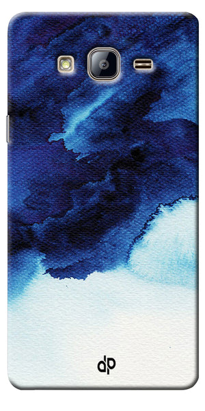 Digiprints Denim Printed background Printed Designer Back Case Cover For Samsung Galaxy On5