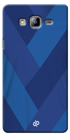 Digiprints cobalt blue back ground Printed Designer Back Case Cover For Samsung Galaxy On5