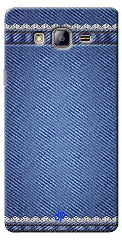 Digiprints cobalt blue Printed Designer Back Case Cover For Samsung Galaxy On5