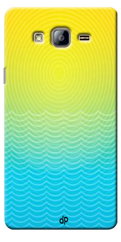 Digiprints Creative Sea Wate Printed Designer Back Case Cover For Samsung Galaxy On5