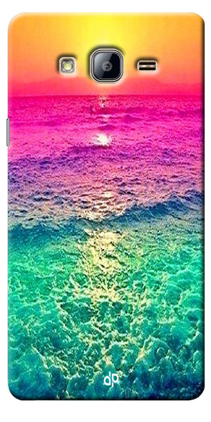 Digiprints Sunset Printed Designer Back Case Cover For Samsung Galaxy On5
