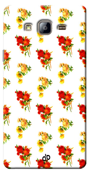 Digiprints flower background Printed Designer Back Case Cover For Samsung Galaxy On5