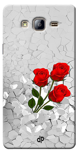 Digiprints Love rose background Printed Designer Back Case Cover For Samsung Galaxy On5