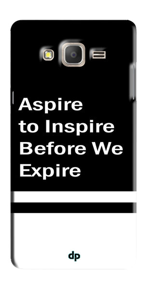 Digiprints Aspire To Inspire Printed Back Case Cover For Samsung Galaxy On5 Pro